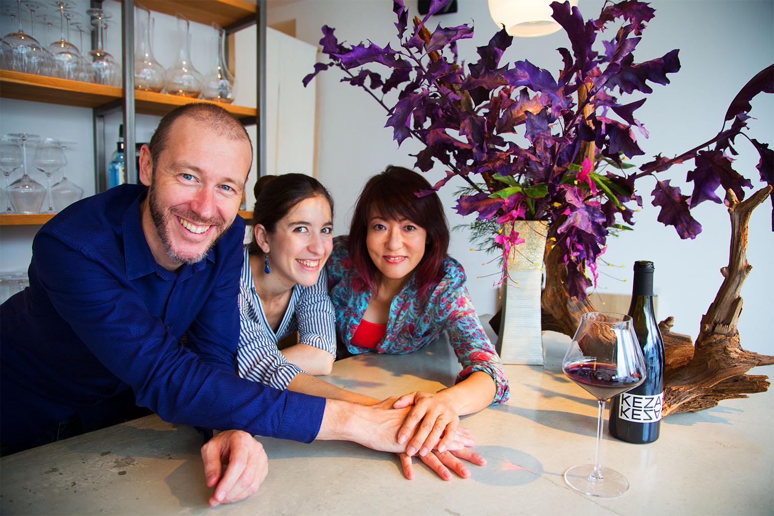 Atelier Fleur et Dégustation de Vin ! - アペロ ワインバー / オーガニックワインxフランス家庭料理 - 東京都港区南青山3-4-6 / apéro WINEBAR - vins et petits plats français - 2016