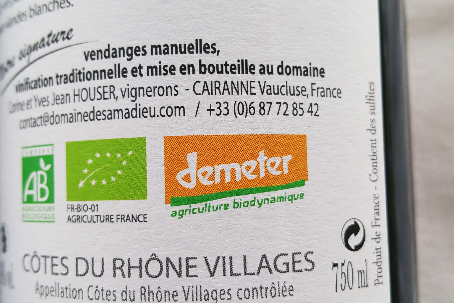 Biodynamie - アペロ ワインバー / apéro WINEBAR - vins et petits plats français - Minami Aoyama Tokyo