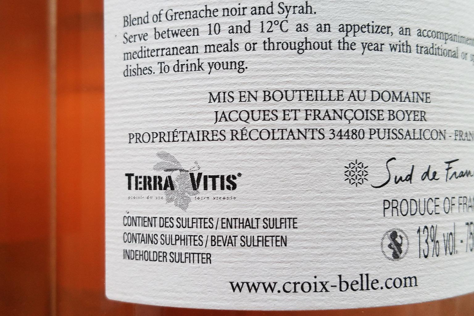 The Terra Vitis Certification - アペロ ワインバー / apéro WINEBAR - vins et petits plats français - Minami Aoyama Tokyo