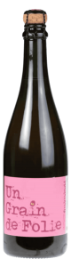 Grain de Folie Pétillant - アペロ ワインバー / オーガニックワインxフランス家庭料理 - 東京都港区南青山3-4-6 / apéro WINEBAR - vins et petits plats français - 2016